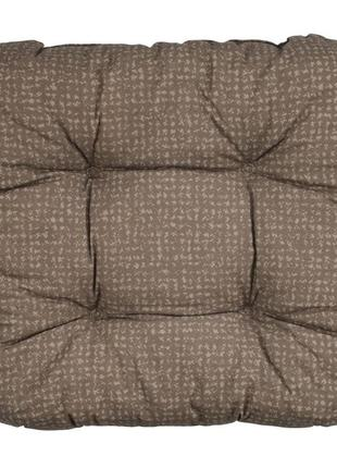 Подушка на стуло коричневая