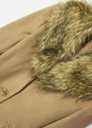 Зимнее шикарное пальто marks & spencer2