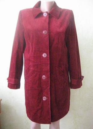 Пальто вельветовое брендовое