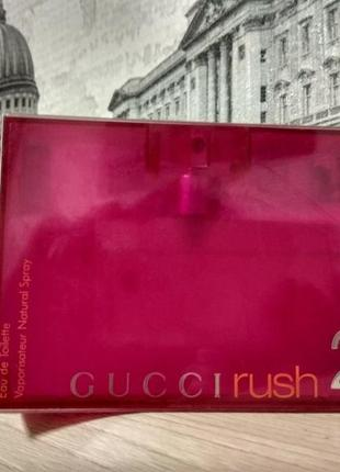 Gucci rush 2 original_eau de toilette 5 мл_затест