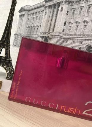 Gucci rush 2_original_eau de toilette 10 мл_затест туал.вода