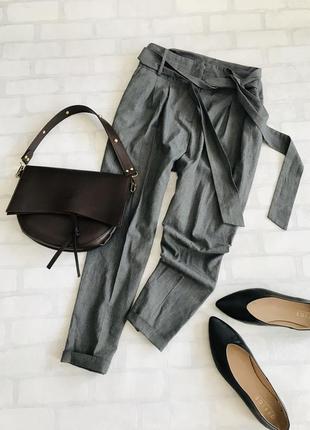 Джоггеры,брюки,штаны,повседневные штаны,высокая посадка