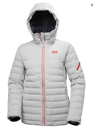 Зимняя, теплая куртка известного бренда helly hansen оригинал. размер xl-2xl🌿