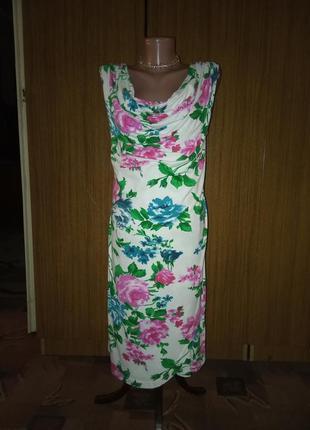 Платье с иммитацией запаха.