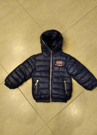 Курточка на рост 98