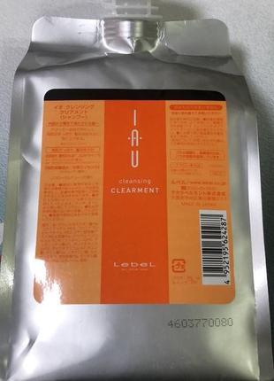 Профессиональный шампунь япония  lebel iau cleansing clearment 50 мл.шикарные волосы!!!