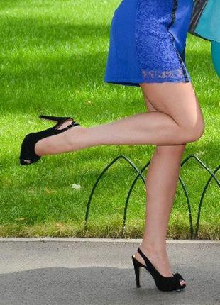 Туфли на среднем каблуке, состояние  хорошее.