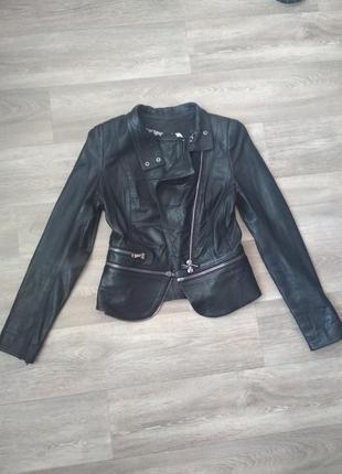 Кожаная куртка косуха трансформер одесса