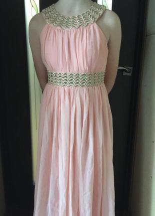 Платье длинное выпускное