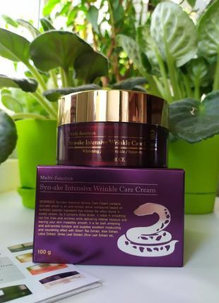 Крем для лица со змеиным пептидом deoproce syn-ake intensive wrinkle care cream