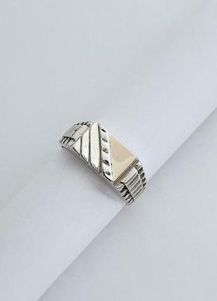 Серебряное мужское кольцо, перстень,печатка