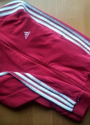 Флисовая кофта фирмы adidas s размера оригинал!