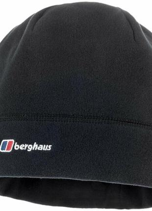 Berghaus spectrum мужская зимняя флисовая черная шапка size xl  tnf
