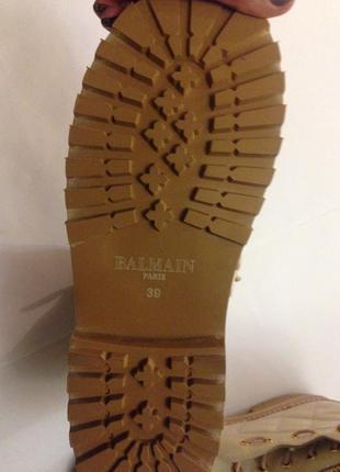 Balmain ботинки5