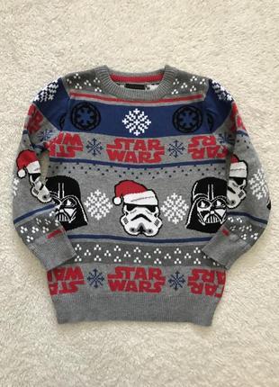 Кофта свитер star wars