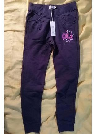 Тёплые спортивные штаны на девочку