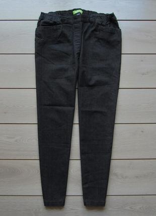 №165 джинсы высокая посадка талия на резинке от ineplus