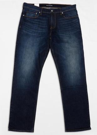 Мужские темно-синие джинсы calvin klein houston