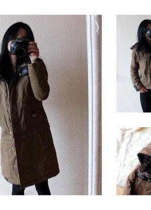 Парка куртка пальто 2в1скидка!!!