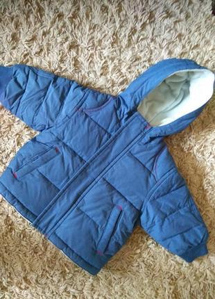 Весенняя теплая куртка