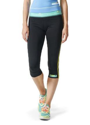 Спортивные леггинсы ниже колена, капри, бриджи adidas stellasport climalite.