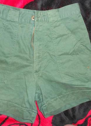 Темно-зеленые шорты next3 фото