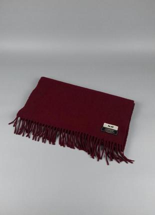 Шерстяной шарф от  acne studios barbour gucci