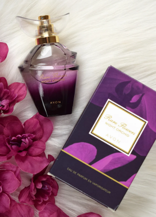 Парфюмерная вода rare flowers night orchid от avon, 50мл
