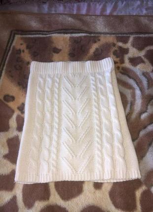 Вязаная юбка