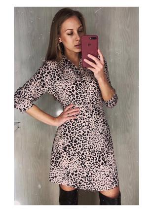 Платье в леопардовый принт от primark