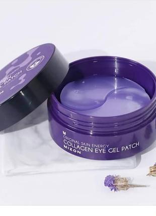 Гидрогелевые патчи для глаз с морским коллагеном mizon collagen eye gel patch - 60 шт.