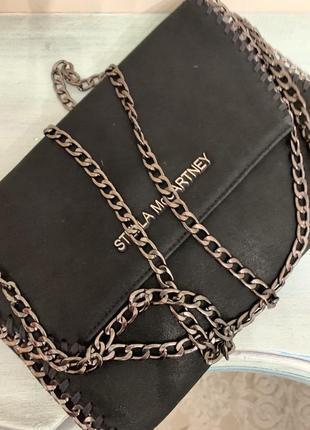 Дизайнерская сумка из овечьей кожи stella mccartney