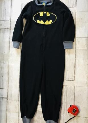 Флисовая пижама для мальчика batman кигуруми