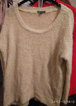 Лимонный свитер травка