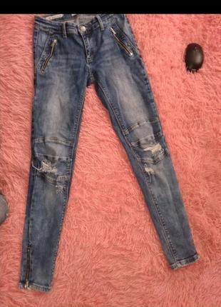 Брендовые джинсы размер 25