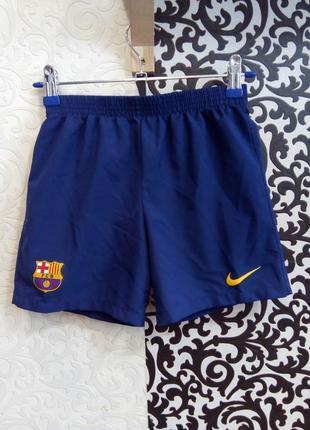 Фирменные спортивные шорты на мальчика найк
