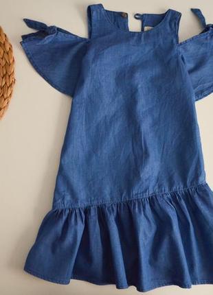 Стиьное платье зара на 6л