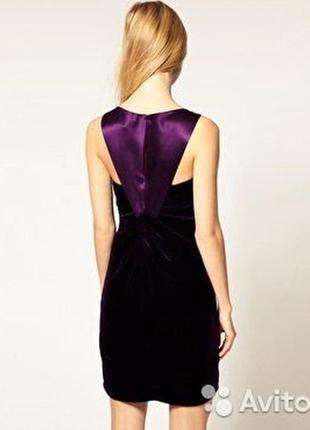 Оригинал.новое,шикарное,вечернее,бархатное платье karen millen