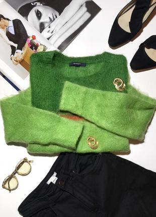 Мягкий мохеровый свитер gant