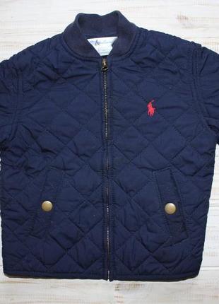 Весенняя куртка ralph lauren на 9мес.