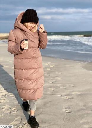 Пальто кокон, пальто одеяло