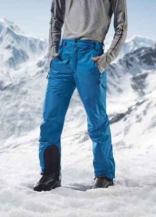 Зимние лыжные мужские термоштаны crivit гермния размер 50