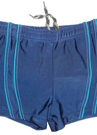 Шорты-плавки детские для мальчиков синие polovi