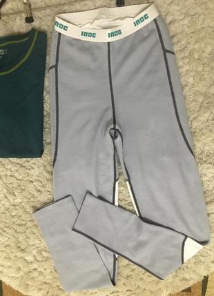 Термобелье штаны поддева inoc 36 термоштаны меринос