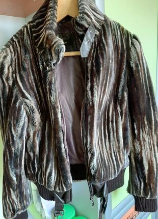 Меховая куртка