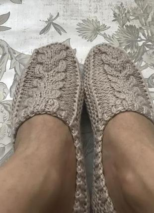 Следки-тапочки hand made фанго