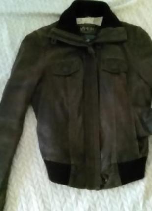 Куртка курточка кожаная с натуральной кожи