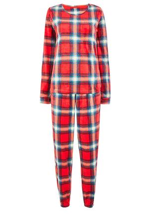 Флисовая тоненькая пижамка от marks&spencer  из англии размер 8-10,12-14