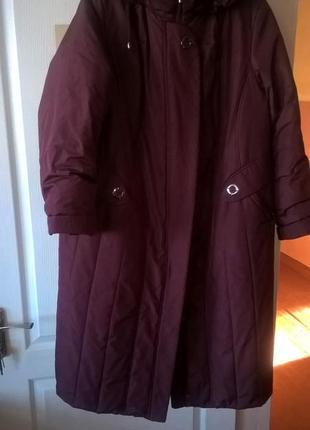 Пальто зимове 62-64 р.пог - 74см