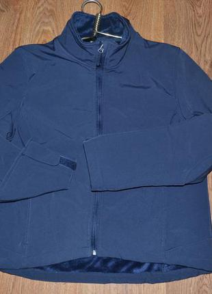 P. l 44/46. спортивная кофта-куртка crane techtex softshell англия фирменная оригинал